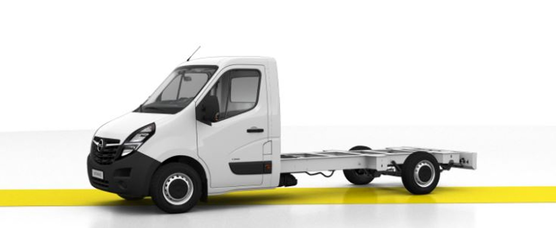 Opel Movano Chassis Cab L3H1 3500 FWD-SRW
